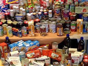 Providing for foodbank, Birchwood Community Church