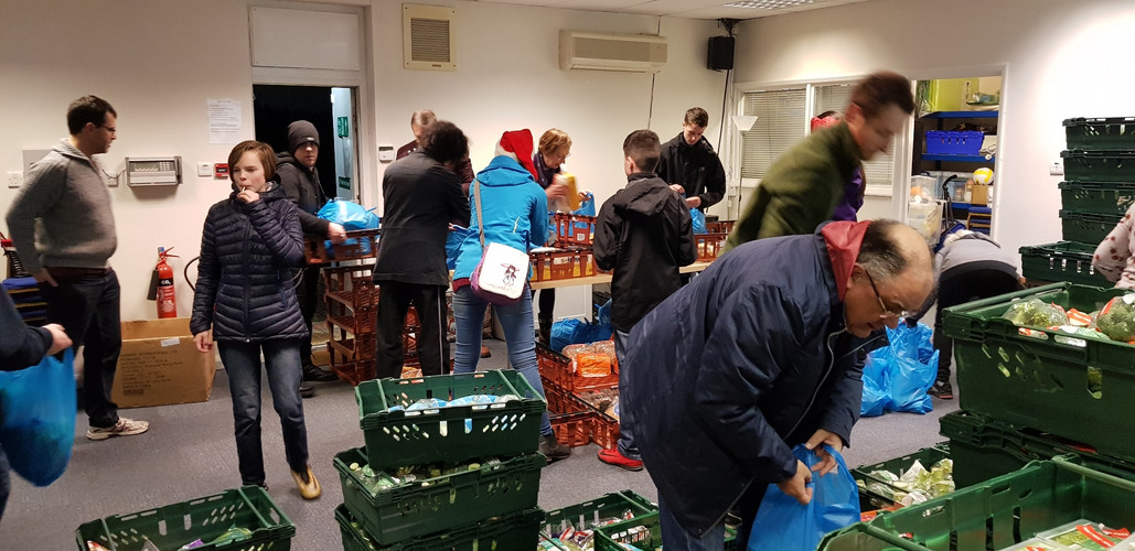 Christmas Eve food giveaway