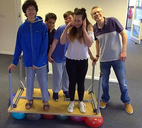 Young people's fun and games at Birchwood Community Church