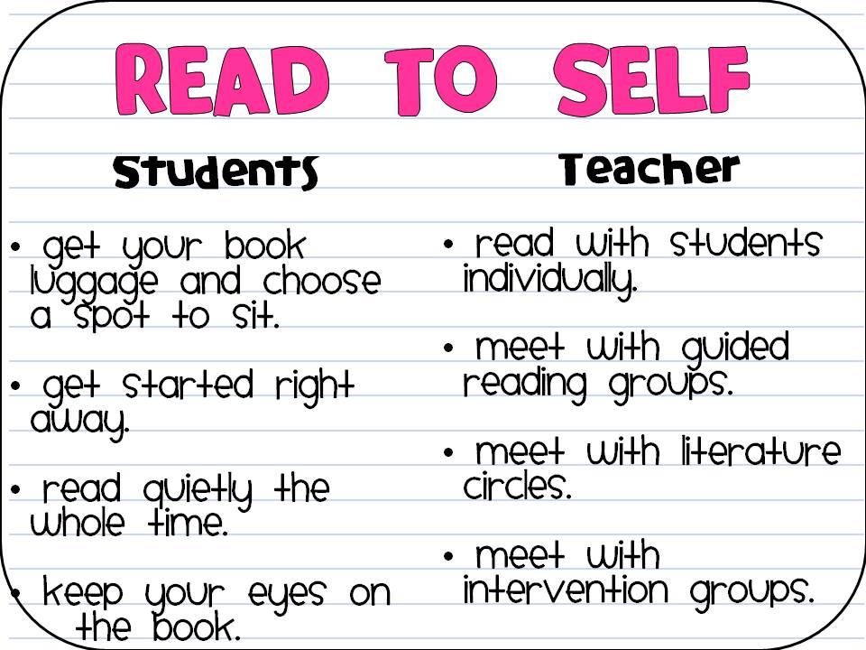 Daily 5 - Read to Self | missfergo