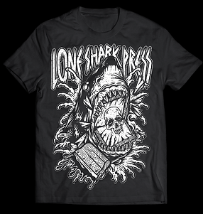 O.G Black Lone Shark Press T-shirt