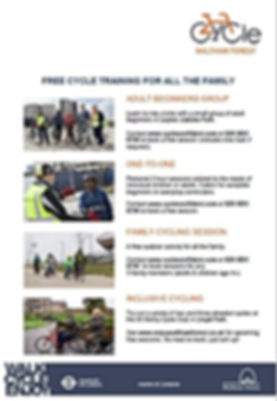 cycle training poster.JPG