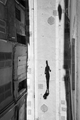 Rue du Puits Neuf Aix en Provence. France. 2018