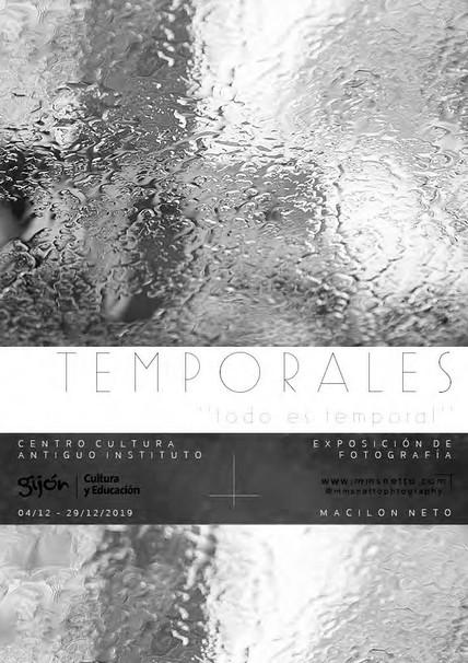 Exhibition Temporales 'todo es temporal'