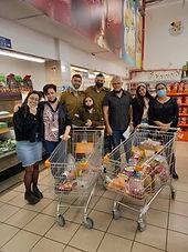 קניות למשפחות נזקקות