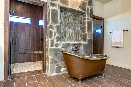 Luxury Bathroom Remoded with Marble Shower