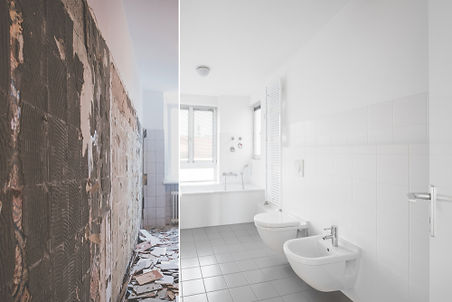 Tiled Bathroom Saved By Water Restoration