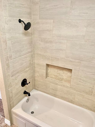 Bathroom Tile Install in Corpus Christi TX.