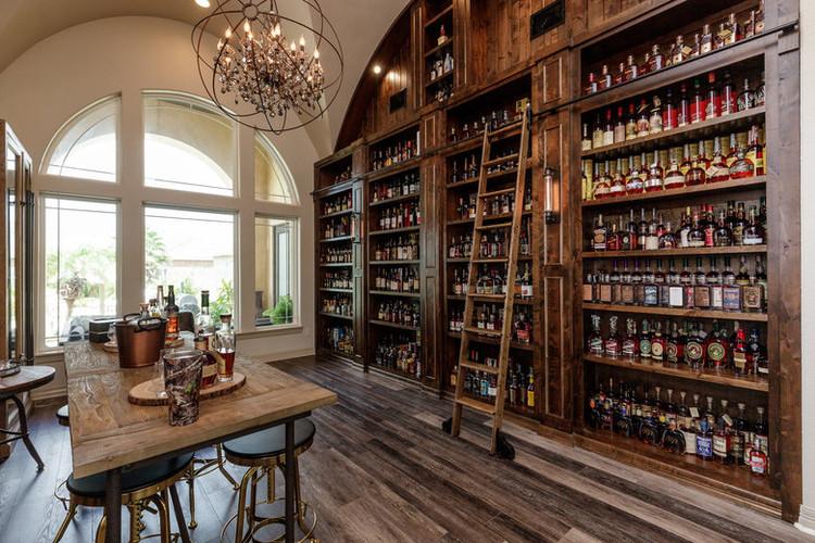 Grand Whiskey Shelf in Corpus Christi