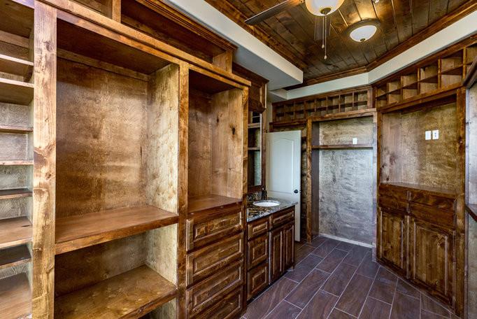 Gentlemen's Closet Installation in Corpus Christi, TX