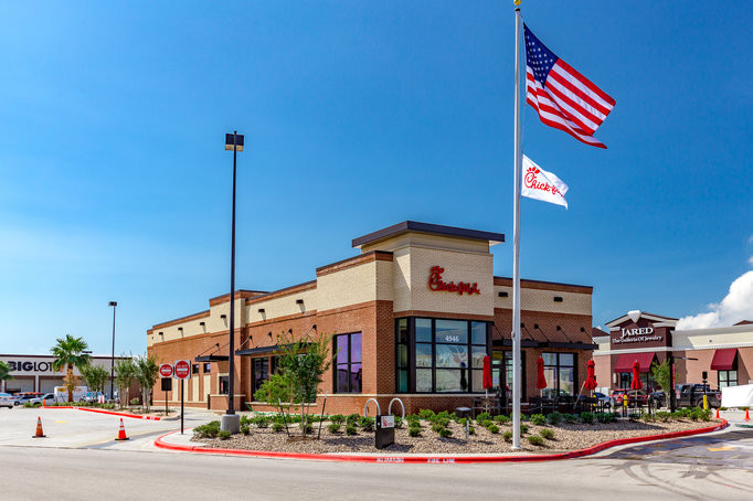Chick-Fil-A On Staples in Corpus Christi