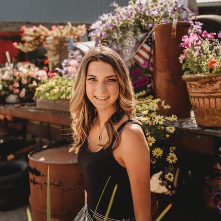 Senior Portrait Session - Abby Harsh