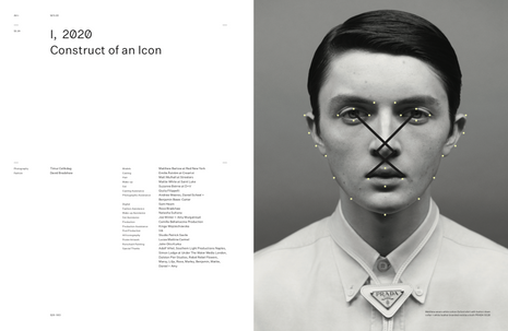 Arena Homme + Construct of an Icon