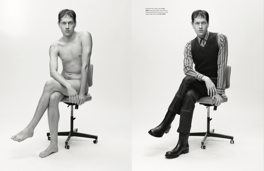 Arena Homme + Our Anatomy of Romance
