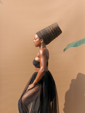 Behind The Lens | Beyonce Inspired Headpiece