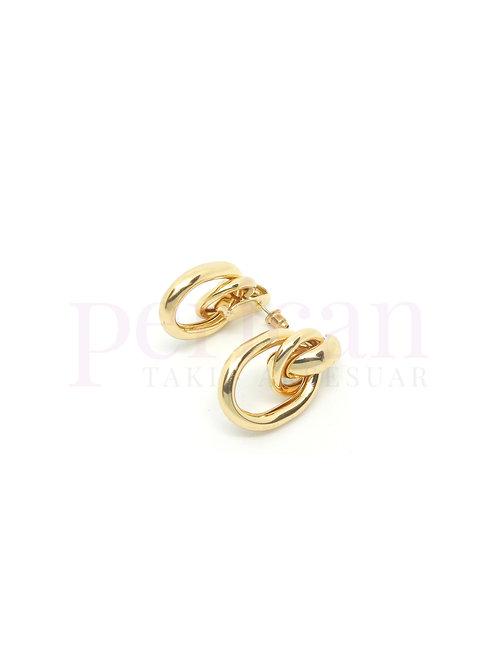 Düğüm Gold Kadın Küpe