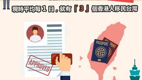 香港人,究竟有乜嘢驅使你移民台灣啊 ?