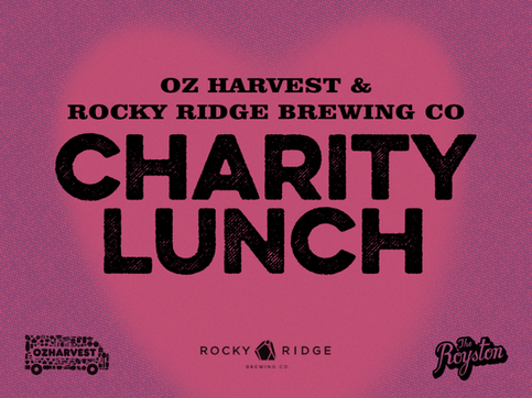 ROCKY RIDGE & OZ HARVEST CHARITY LUNCH