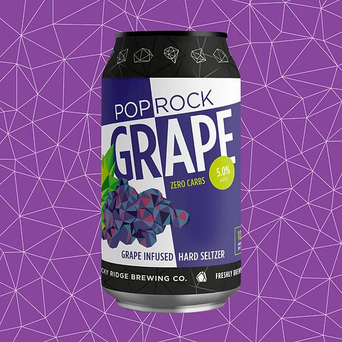 Pop Rock Hard Seltzer   Grape