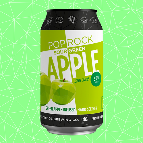 Pop Rock Hard Seltzer | Sour Green Apple