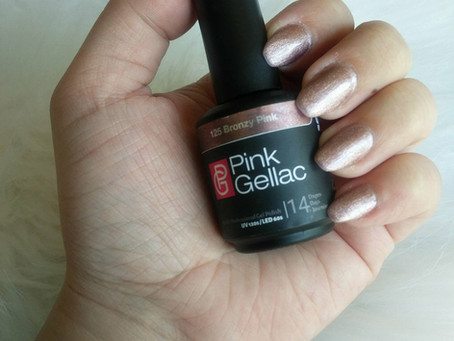 Beauty : Bronzy Pink on my nails