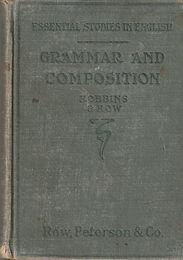 Grammar and Composition - Robbins & Row_