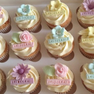bridesmaid cupcakes
