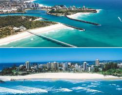 Gold Coast beach views