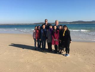 International tourists and investors visit Couran Cove Island Resort
