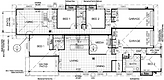Floor plan of Benthania dual income homes.