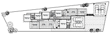 Floor plan of Spruce Loganlea dual income homes.