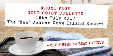 Articles about Couran Cove island resort located on South Stradbroke Island near the Gold Coast.