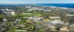 Arial view for Sage Apartments at Merrima on the Gold Coast.