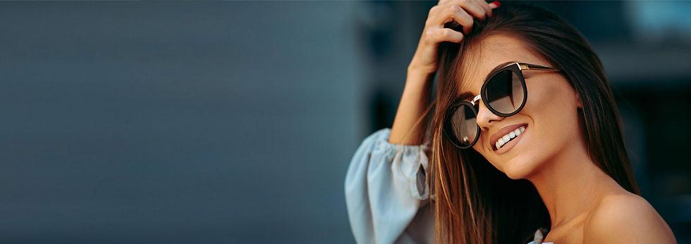 Okulary przeciwsłoneczne korekcyjne damskie