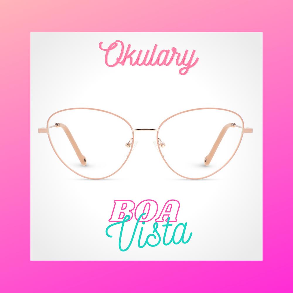 Damskie okulary Boa Vista dostępne w Blueberry Optic, bboptic