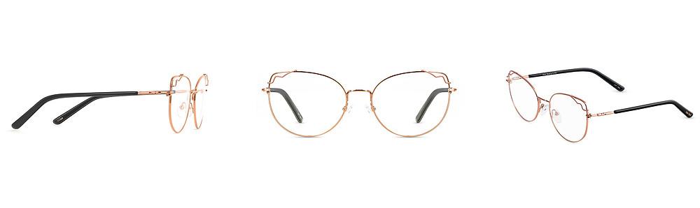 Modne damskie okulary Boa Vista, klasyczny koci kształt w bboptic.