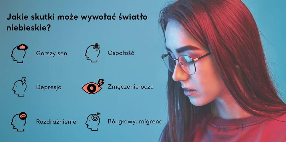Okulary do komputera, pełna ochrona Twoich oczu.