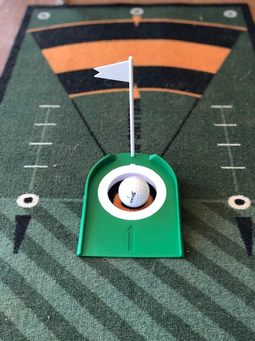 Trou de putting