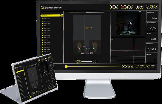 Biomecaforce software