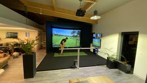 L'Elite cage au golf indoor de Broye