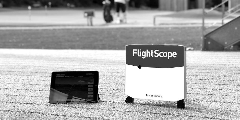 Flightscope / Dynamic loft et le matériel