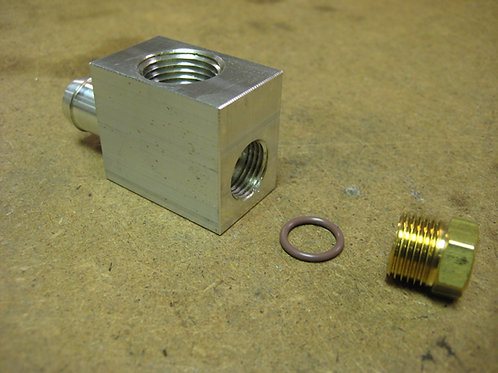 Heated Filter Tee Fitting