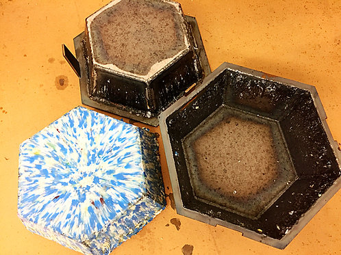 Hexagon Bowl Compression Mold