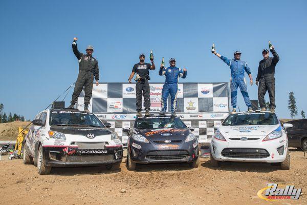 Olympus 2WD podium 2012