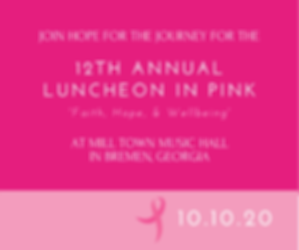 Postcard 11th Annual _Luncheon in Pink_