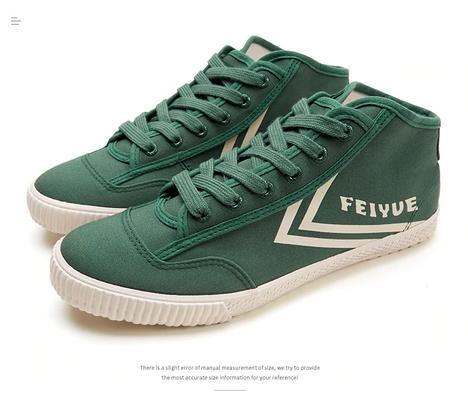 Boot Feiyue Styles Bottle Green