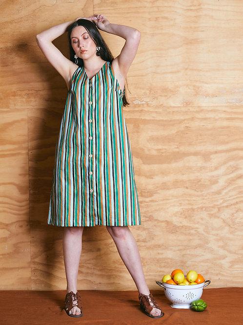 Utility Dress: Aino Stripe