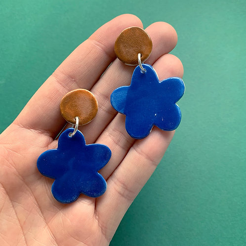 Bloom Ceramic Drop Earrings: Mix and Match