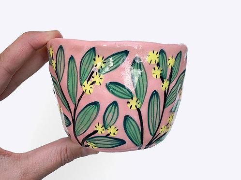Ceramic Pot for Plants: Wattle