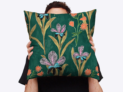 Grandiflora Throw Cushion